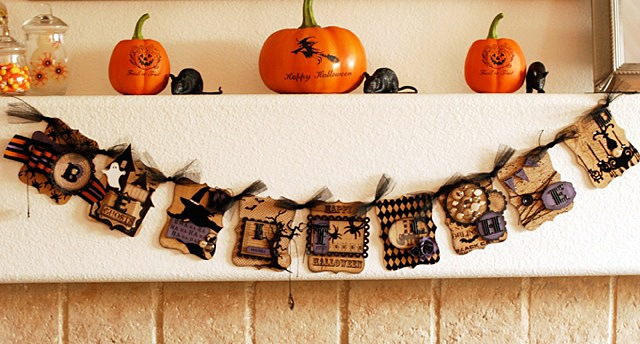Halloween Monday! My Mind's Eye and Teresa Collins