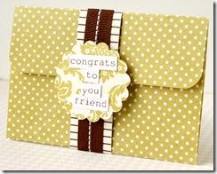 lush - gift card holder