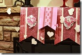 Hearts a Flutter mantel decor_left