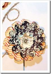 Canvas Flower Bouquet_3-D flower