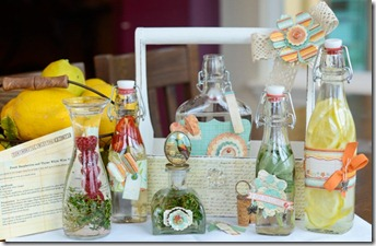 Jeannette_MME March Home Decor Project {Flavored Vinegar}