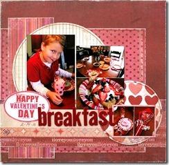 Valentine BreakfastT