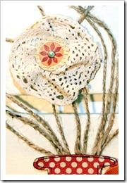 Canvas Flower Bouquet_crochet flower