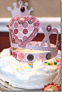 Princess Party_Cake decor