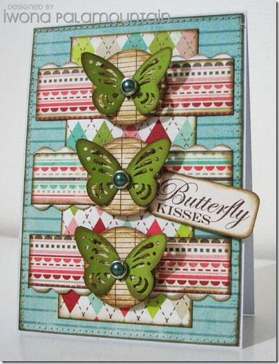 Iwona Palamountain_Butterfly Kisses card