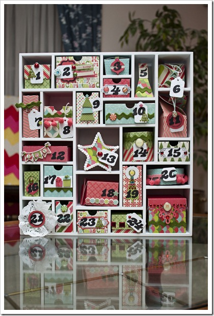 My mind 39 s eye blog advent calendar How to build a wooden advent calendar