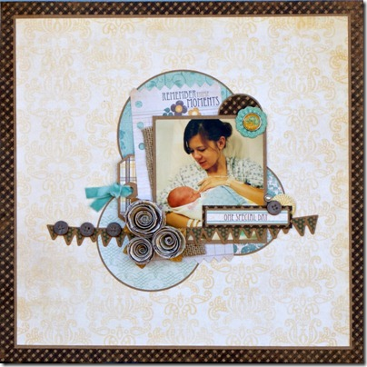Jenny Evans_One Special Day layout