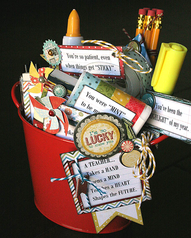 Teacher Gift Pail