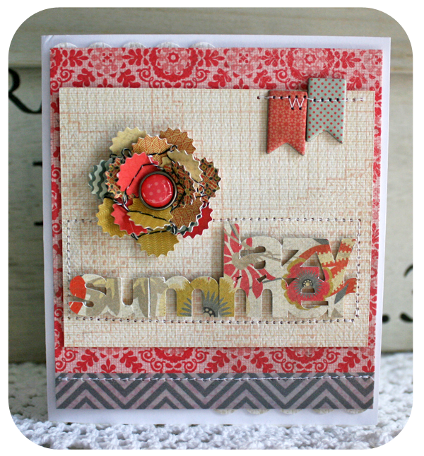 Lazy summer card danni reid