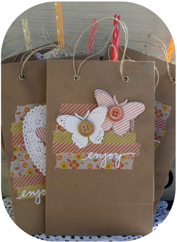 Party gift bags danni reid