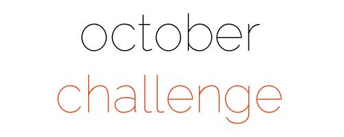 Octoberchallenge