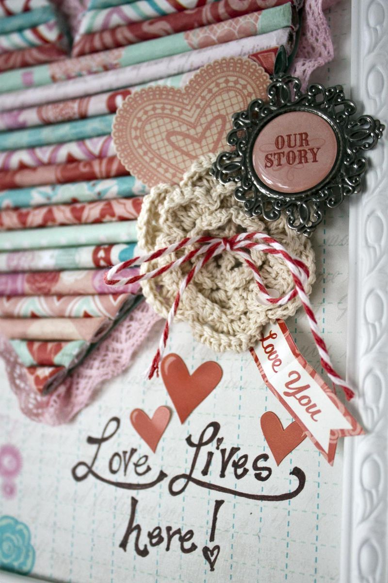 Rolled Paper Heart_embellishment