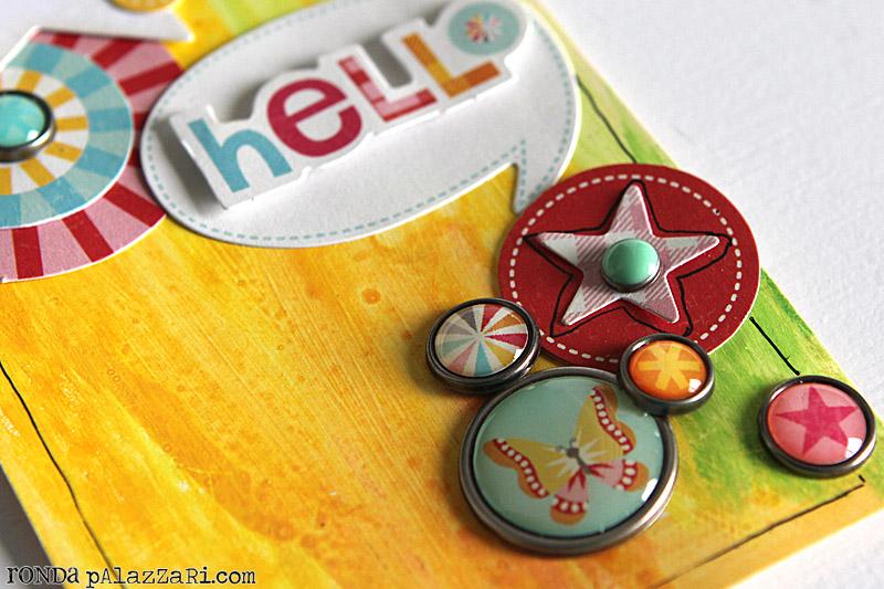 Ronda Palazzari Hello Tag details 2