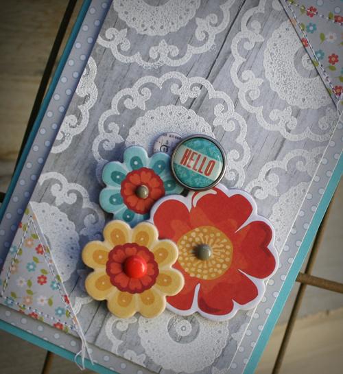 A hello floral details danni reid