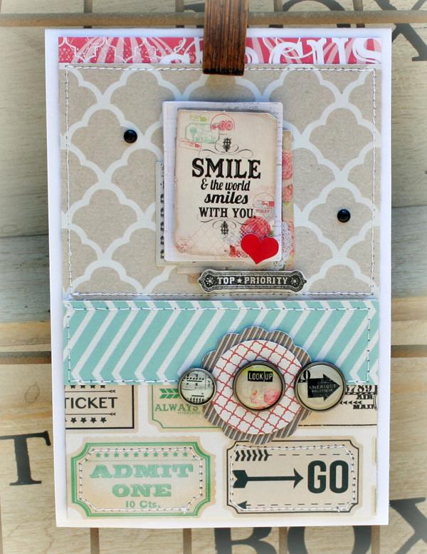 Smile card danni reid