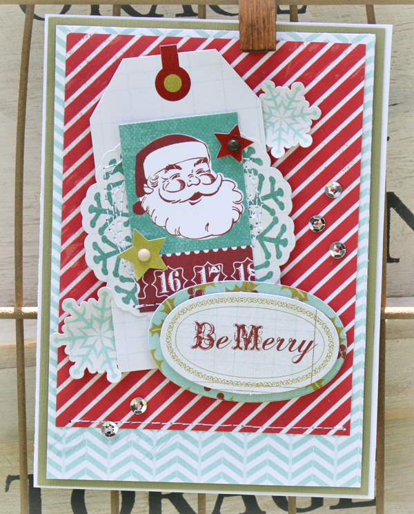 Be merry card danni reid