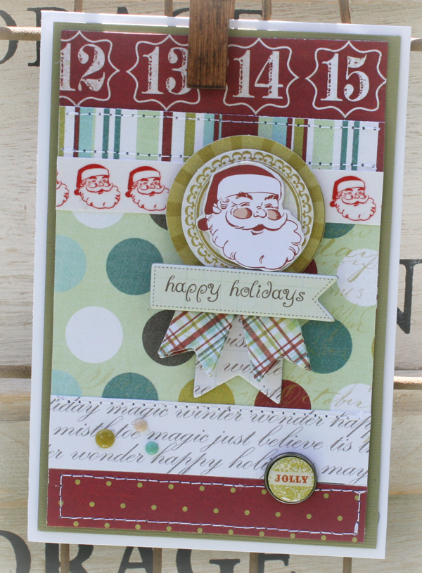 Happy holidays card danni reid