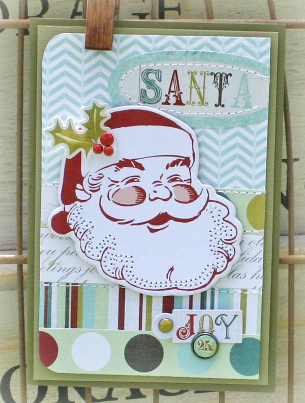 Santa card danni reid
