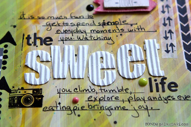 Ronda Palazzari The Sweet Life details 3