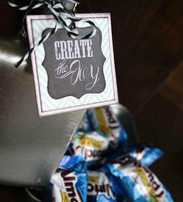Inside Create Joy Tin