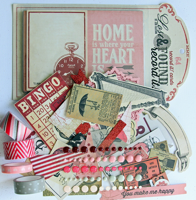 Lost and Found Record It! | Heirloom #scrapbooking #papercrafting