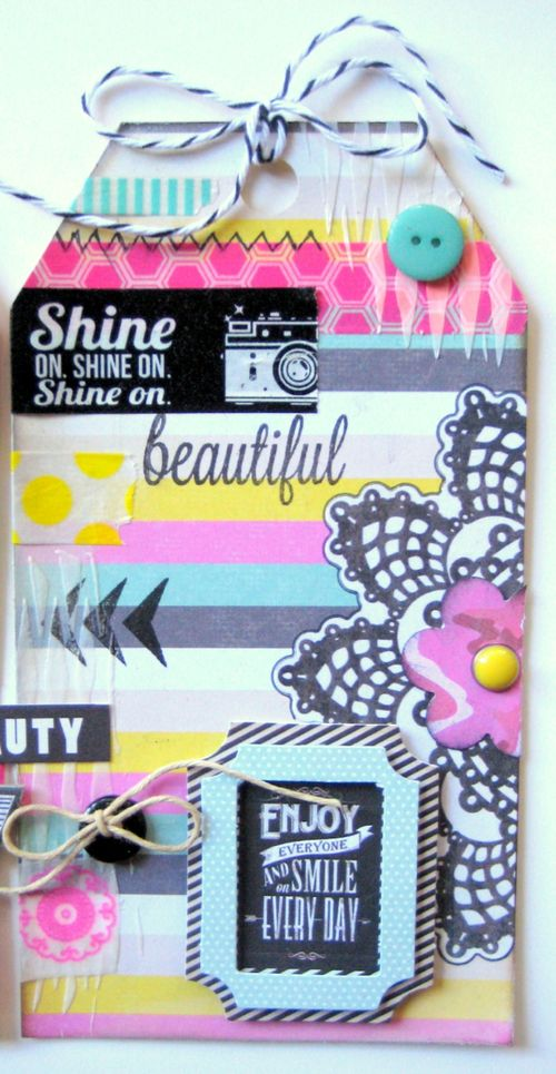 Missy Whidden for MME #tags #scrapbooking