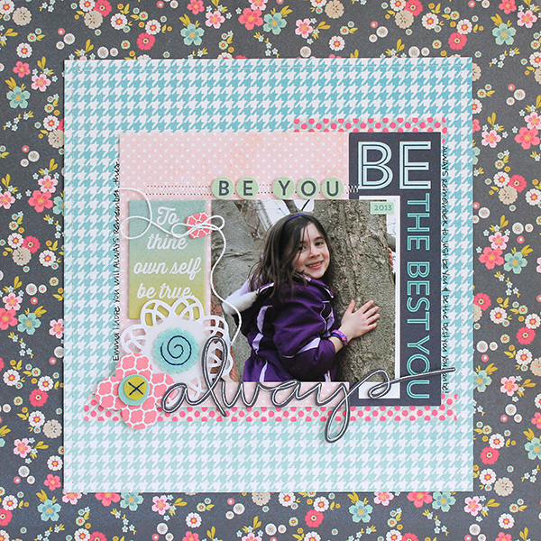 Juliana Michaels for MME #papercrafting #scrapbooking
