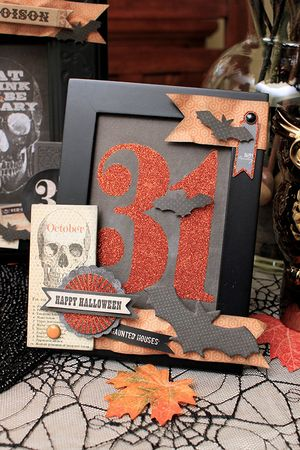 Juliana Michaels for MME #halloween #papercrafting
