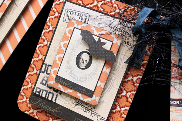 Juliana Michaels for MME #halloween #banner #papercrafting