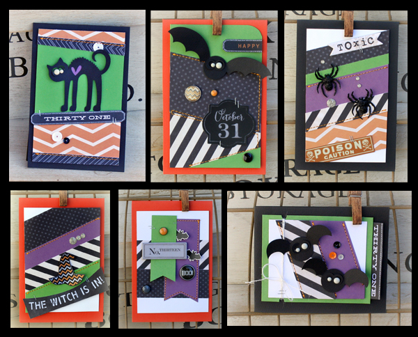 Danni Reid for MME | #halloweencards #cards #halloween #scrapbooking
