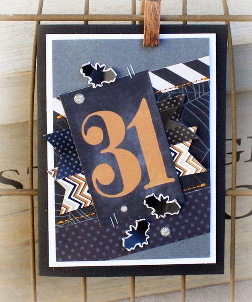 Danni Reid for MME | #halloweencards #cards #halloween #scrapbooking