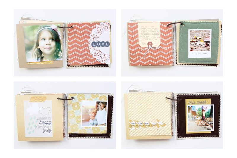 #minialbums with Stephanie