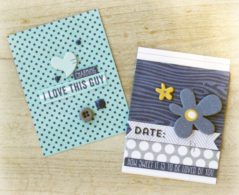 #projectlife cards by Danni Reid for MME