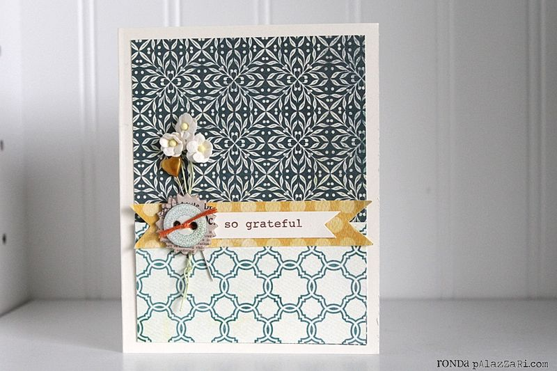 Ronda Palazzari So Grateful Card