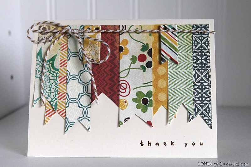 Ronda Palazzari Thank You Card