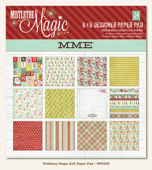 Mistletoe Magic 6x6 Pad