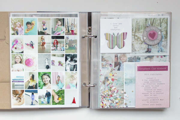 Mini Album by Stephanie | via My Mind's Eye