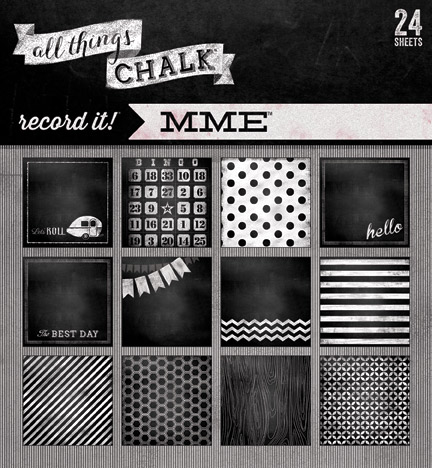 Record It//All Things Chalk//via My Mind's Eye