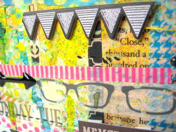 Tapes Canvas Close Up 4 - Missy