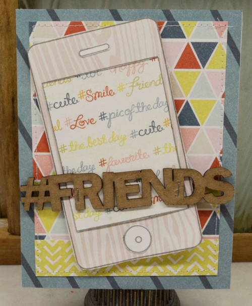 Laurel's friend card