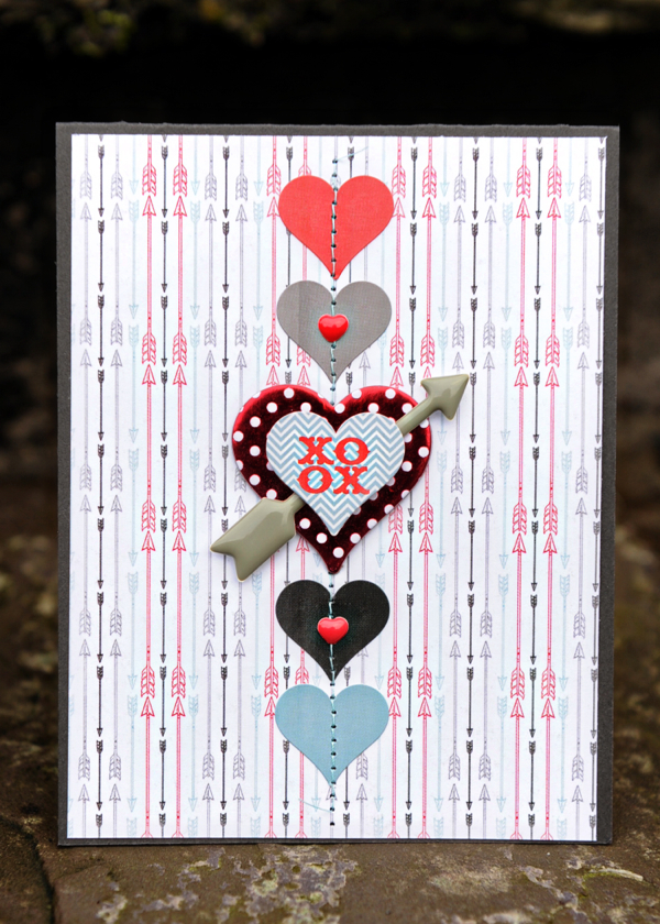 Valentine's #cards // Via My Mind's Eye