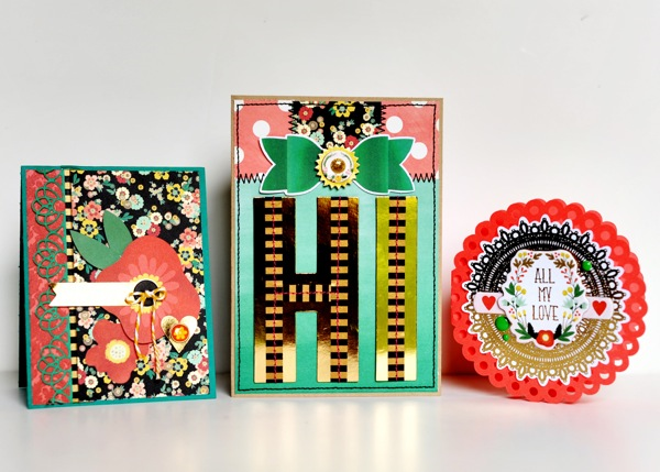Market Street #card Trio by Tonya Dirk for MME