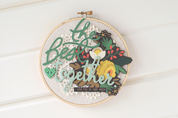 #embroideryhoops by Valerie // via MME