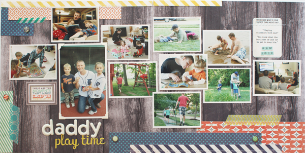 Shelly Jaquet #twopagelayout #scrapbooking // via MME