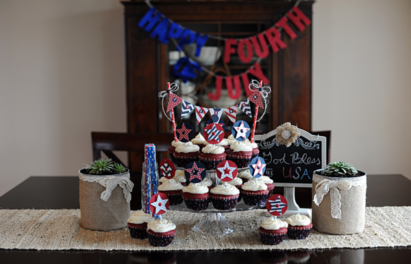 #fourthofjuly #decor via MME