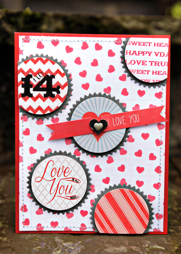 Valentine's Day #cards // via My Mind's Eye
