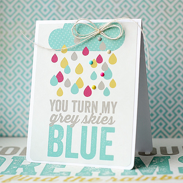 Lea Lawson for MME #cleanandsimplecards