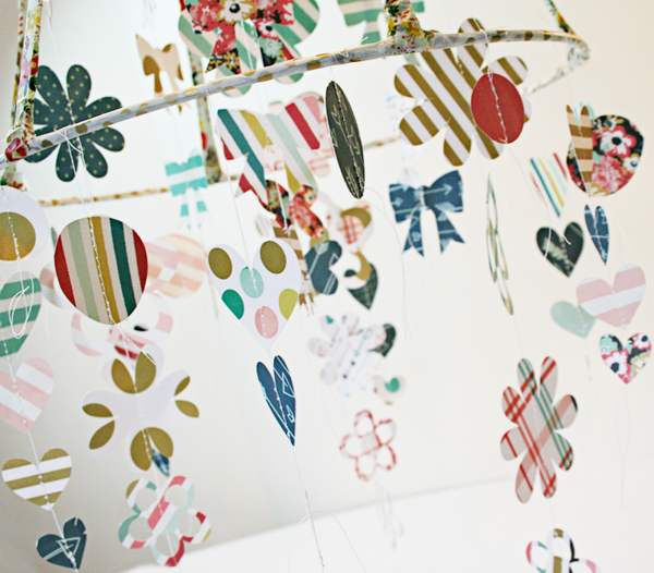 Lampshade decor details by Heather Leopard