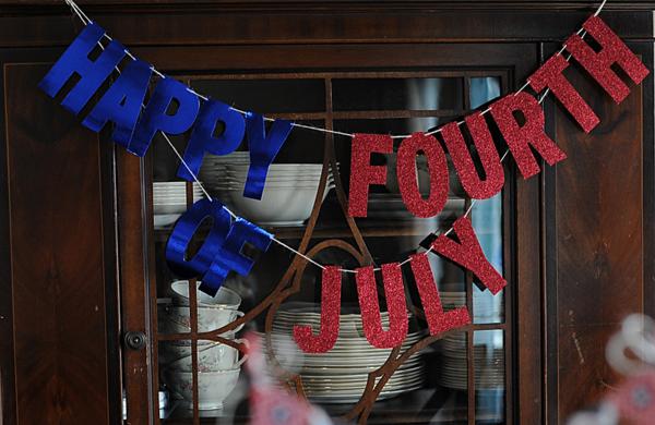 #fourthofjuly #banner // via MME