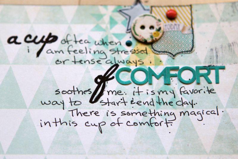 Ronda Palazzari A cup of Comfort details 3